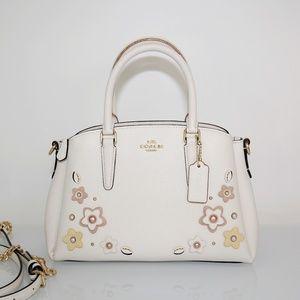 Coach Mini Sage Carryall With Floral Applique Bag